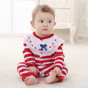 Christmas Baby Long Sleeve Red Jumper