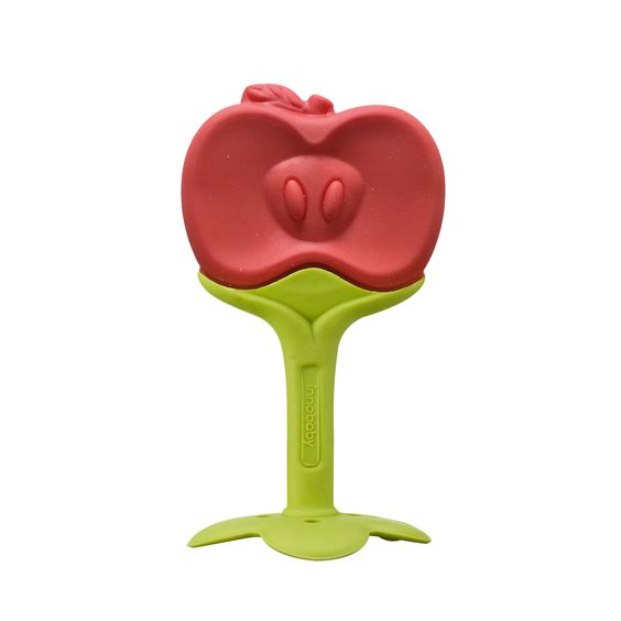 ANGE Fruit Teether with Clip - Apple