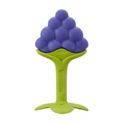 ANGE Fruit Teether with Clip - Grape