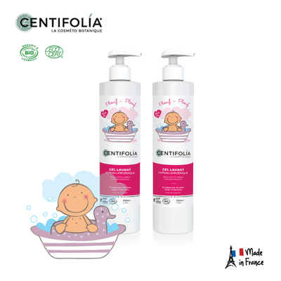 Centifolia Hair & Body Wash 250ml Twin Pack