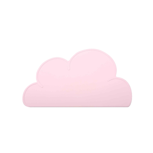Cloud Shape Tableware Silicone Heat Resistant Placemat Table Mat - Pink