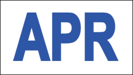 MONTH APRIL / APR STICKER ON CALIFORNIA LICENSE PLATE