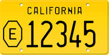Load image into Gallery viewer, 1956 COUNTY EXEMPT CALIFORNIA LICENSE PLATE