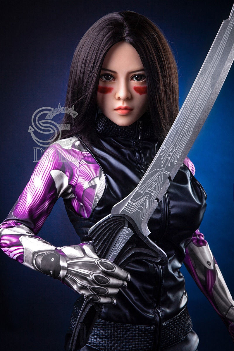 Sex Dolls Japanese Real Silicone Adult Anime Full Sexy Pussy Small Breast Love Doll for Men Alita The Battle Angel