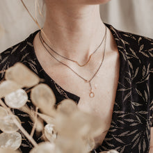 Load image into Gallery viewer, Asymmetrical Bar Necklace