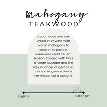 Load image into Gallery viewer, Mahogany Teakwood