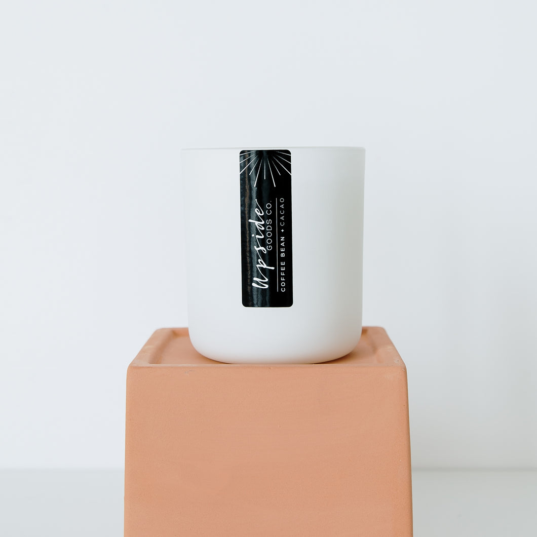 Coffee Bean + Cacao Candle | Upside Goods Co.