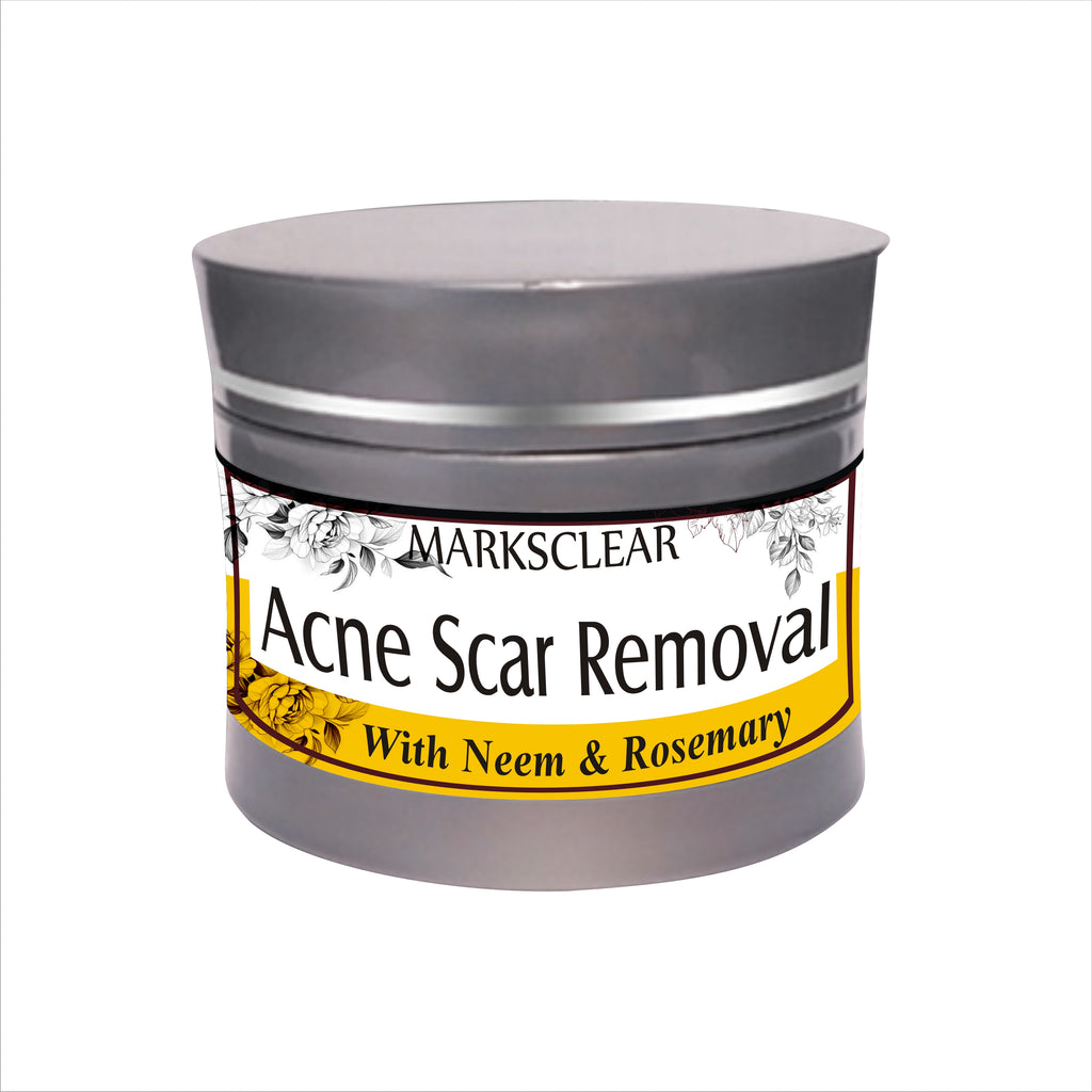 Scars Removal, Acne Scars/ Dark Spot , All types of scars with Almond Oil,Rosemary, Vitamin B, Grapeseed & other natural ingredients.-50gm