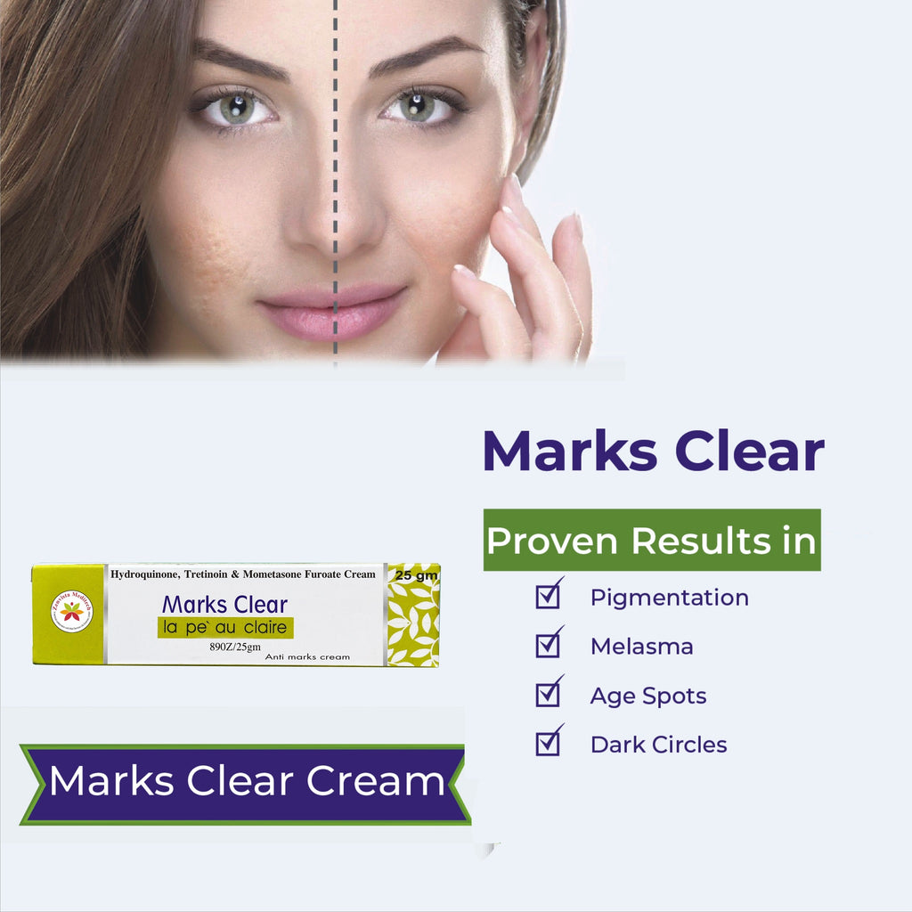 Marks Clear Cream for Scars, Dark Spot, Pimples And Acne