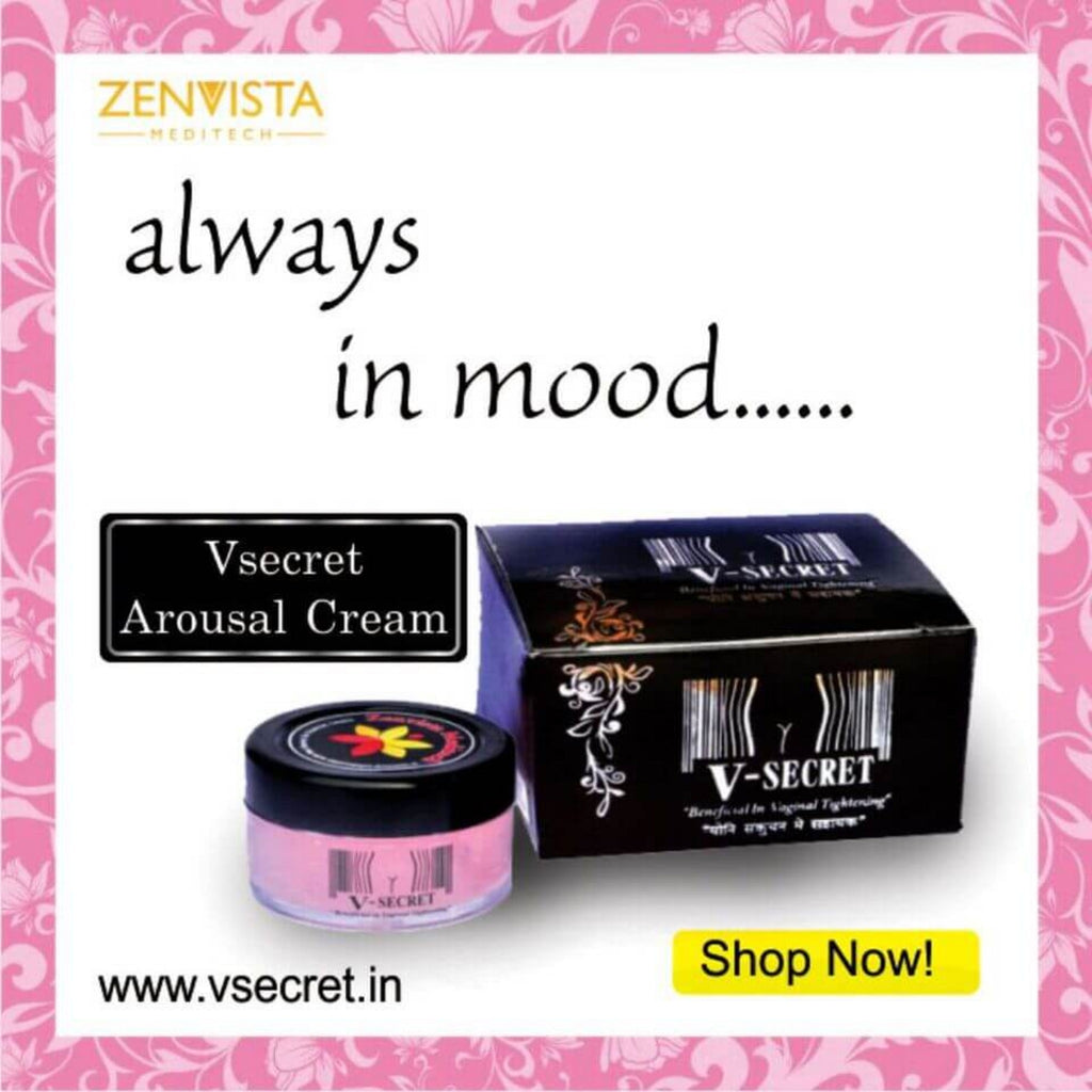 V Secret Arousal And Stimulating Cream With Lubricating Properties: All Natural Ingredients