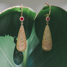 Load image into Gallery viewer, Ombre Raindrop Earrings I
