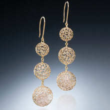 Load image into Gallery viewer, Gradual Gold Earrings