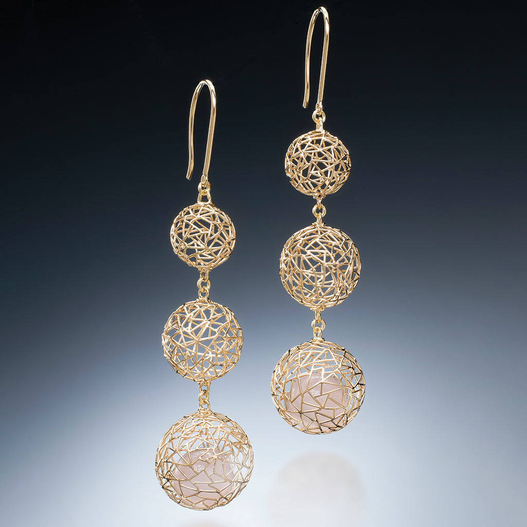 Gradual Gold Earrings