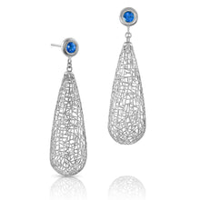 Load image into Gallery viewer, Large Raindrop Earrings