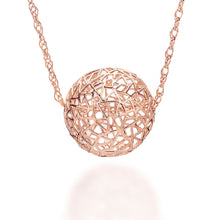 Load image into Gallery viewer, Rose Gold Bubble Necklace