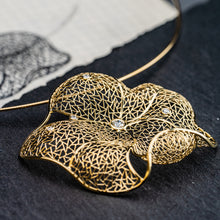 Load image into Gallery viewer, Copy of Lotus Leaf Pendant II