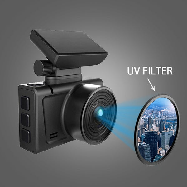 4K Car Camera Dashcam Gesture Photo WiFi  Dash Cam