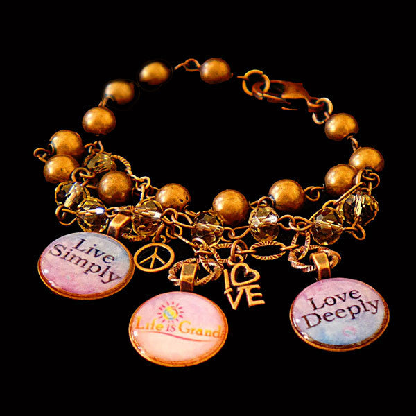 Power Penny Charm Bracelet