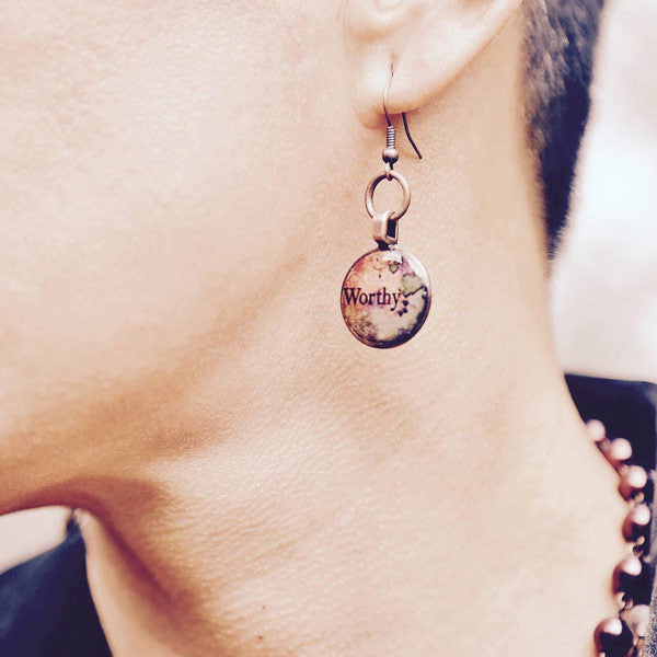 Power Penny Earrings