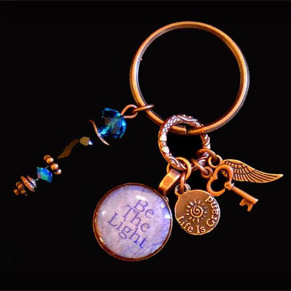Power Penny Key Chains