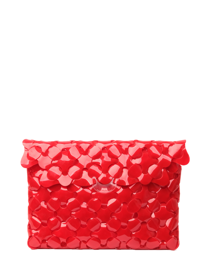 Anatomy Clutch Medium in Hydrant Red