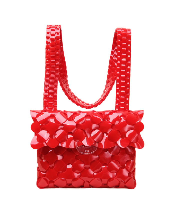 Anatomy Bag in Hydrant Red