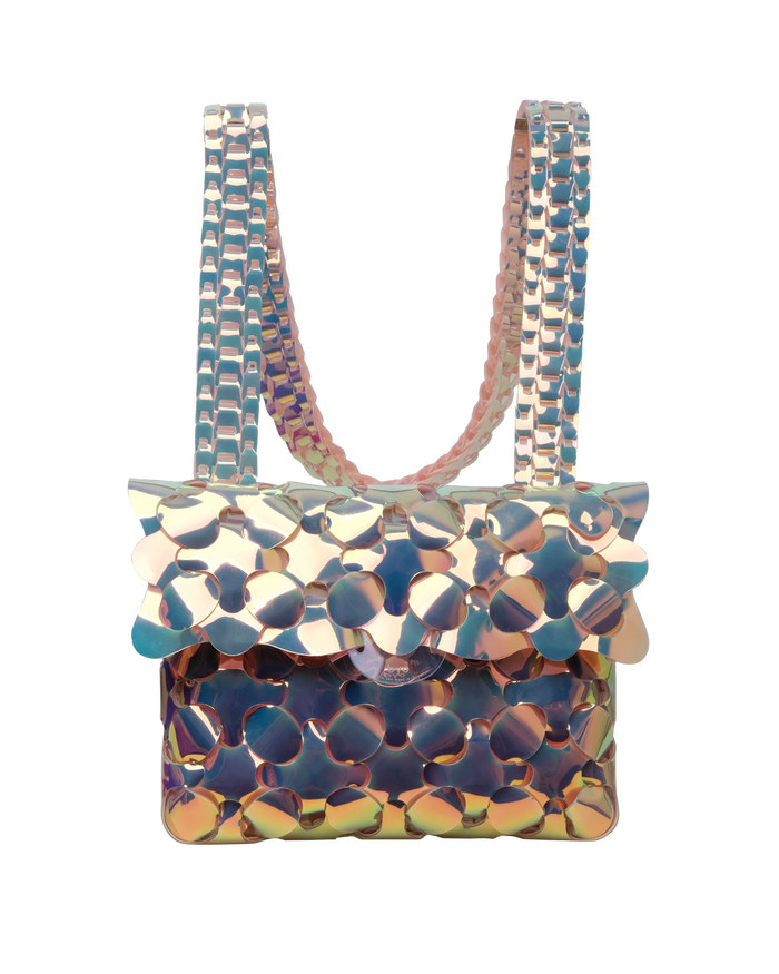 Anatomy Bag in Iridescent Beige
