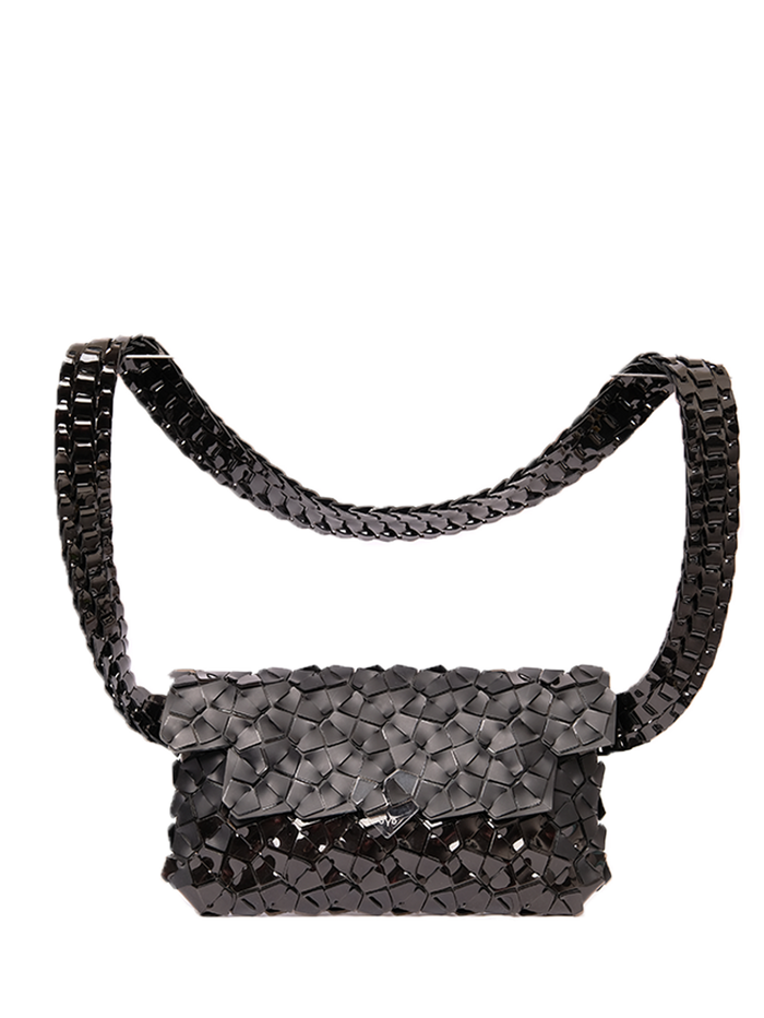 Fragment Belt Bag in Black