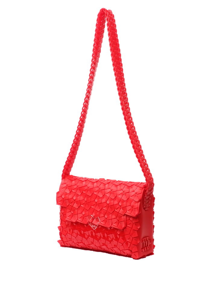 Mailbox Bag Medium in Candy Red