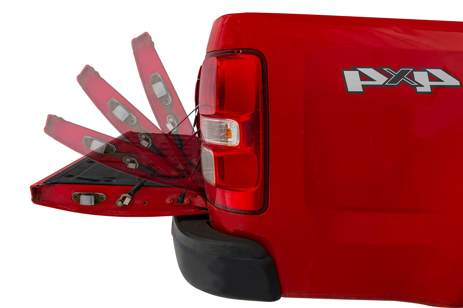 Holden Colorado RG - Tailgate assist Please specify year of vehicle before ordering (default order will be to suit 2016+)