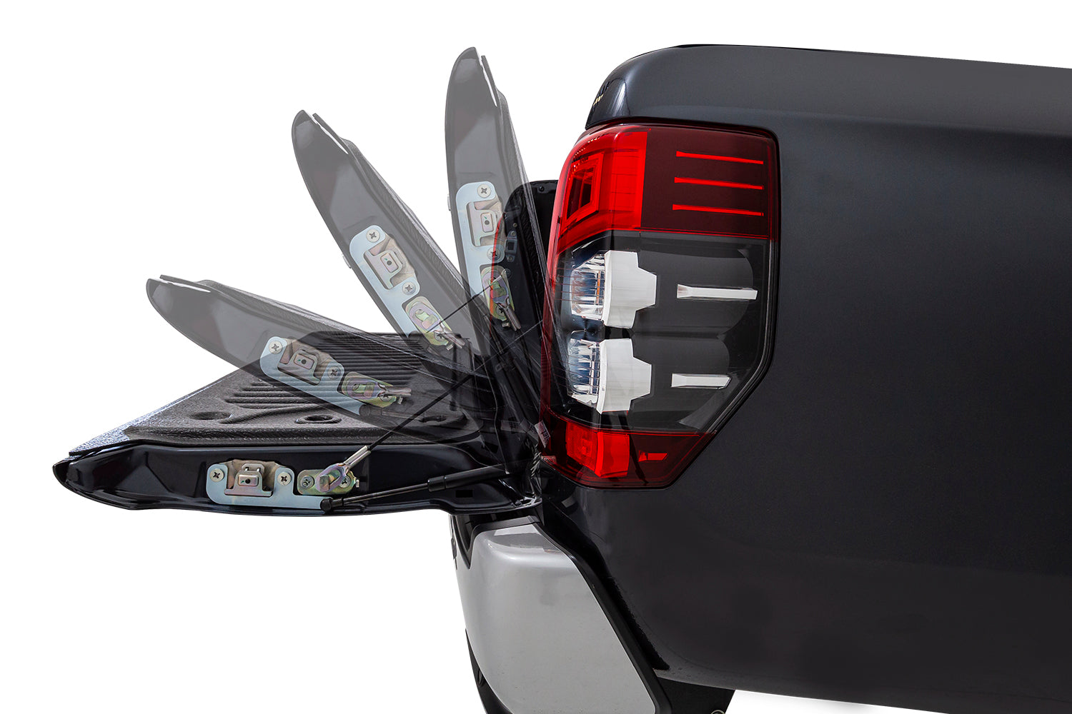 Mitsubishi Triton MR - Tailgate assist