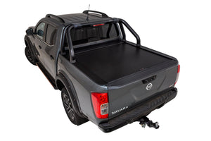 Dual Cab Nissan Navara D23 NP300 - Roll R Cover with sports bar mounting kit