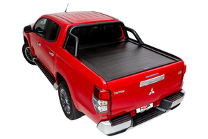 Dual Cab Mitsubishi MQ Triton - Roll R Cover with sports bar mounting kit