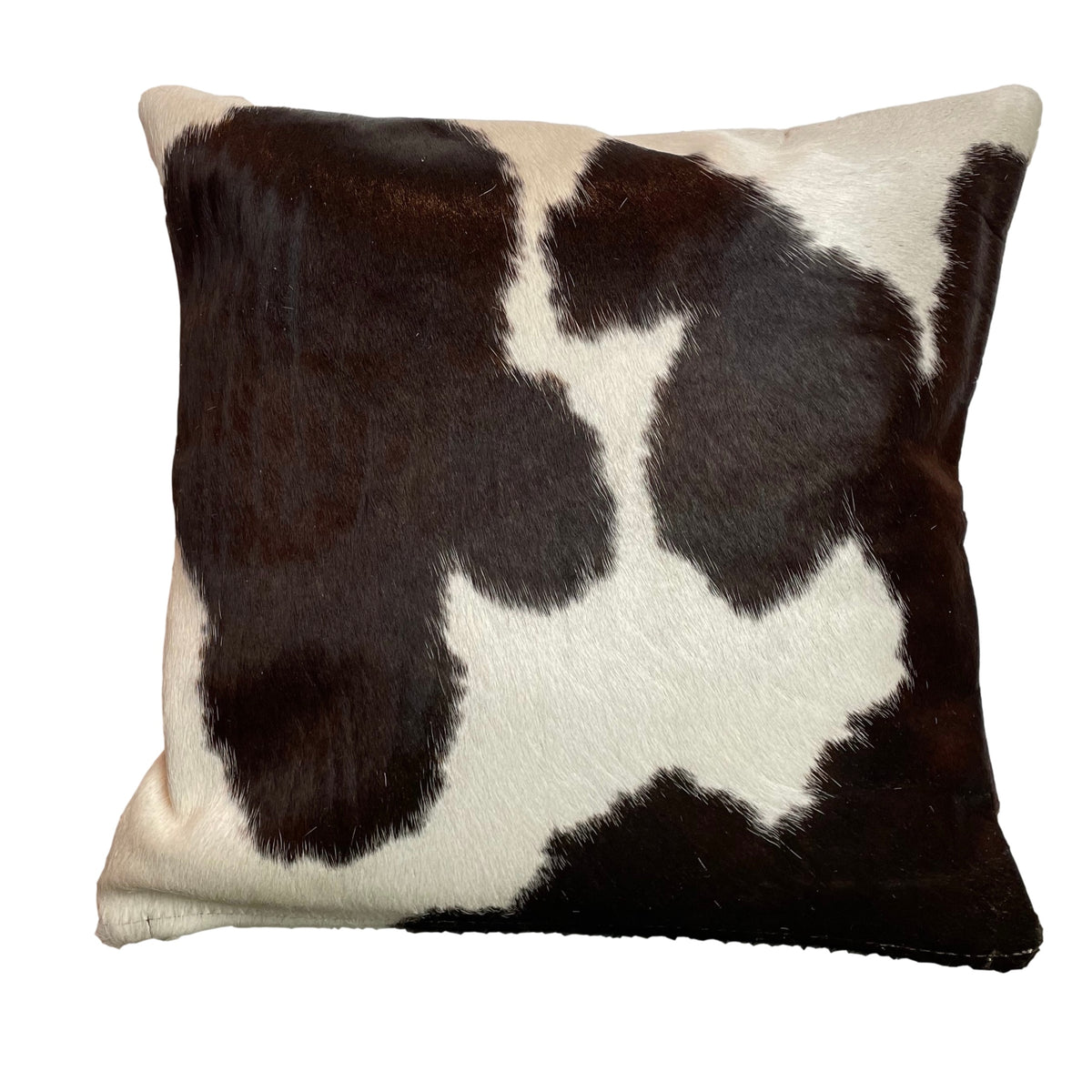 TRICOLOUR COWHIDE CUSHION - IZEL DESIGNS
