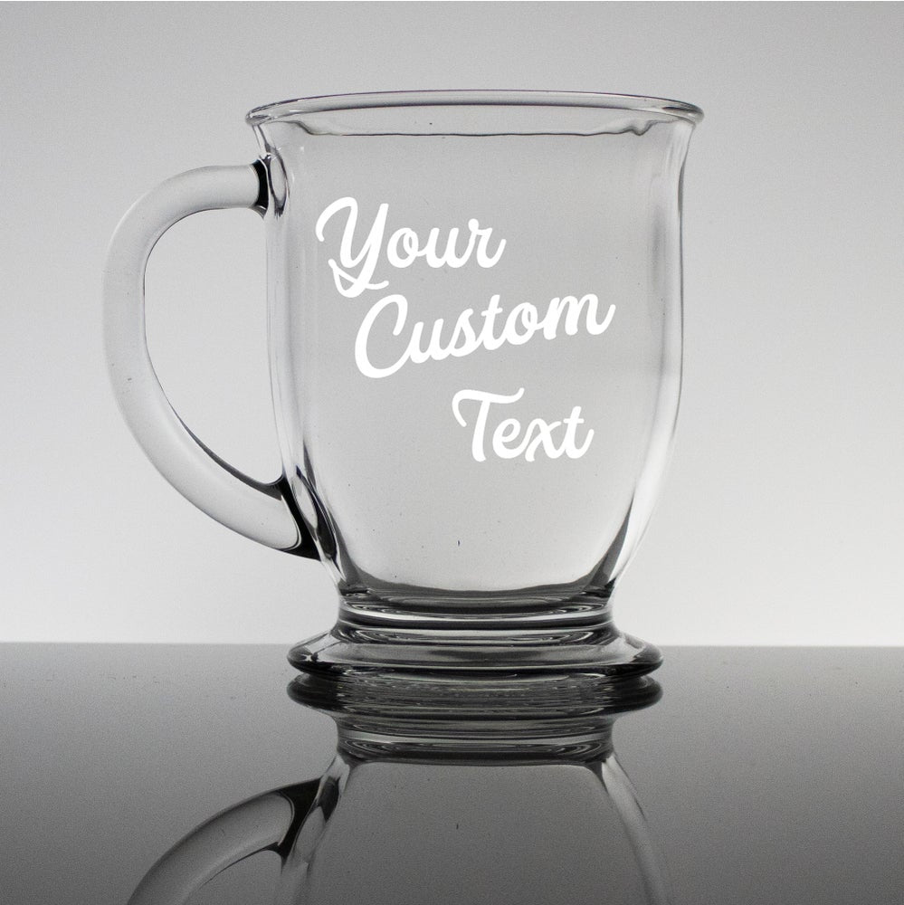 Write Your Own Message Engraved - 16oz Coffee Cups