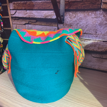 Load image into Gallery viewer, Uriana Blue Mochila