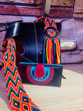 Load image into Gallery viewer, Uku Leather Bag with Wayuu Strap
