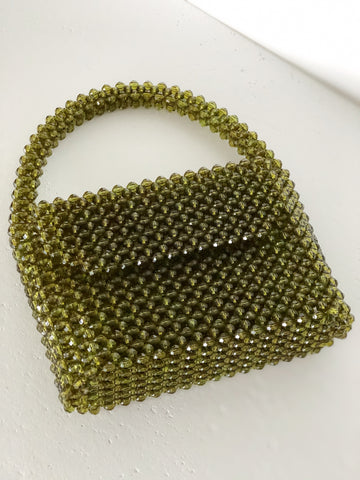 Olive Waterfall Bag