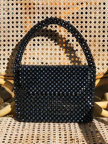 Made to Order Black Waterfall Bag