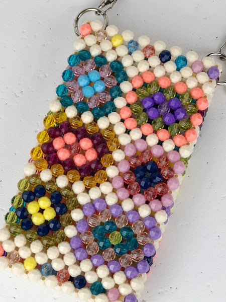 Bright Granny Square Cellphone Bag
