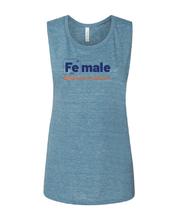 Load image into Gallery viewer, [Fe]male Muscle Shirt – Teal
