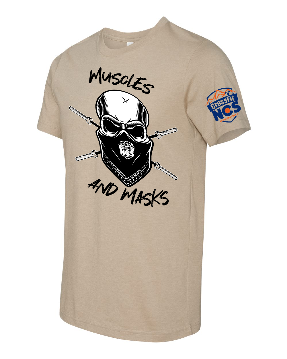 Muscles and Masks Limited Edition Competition T