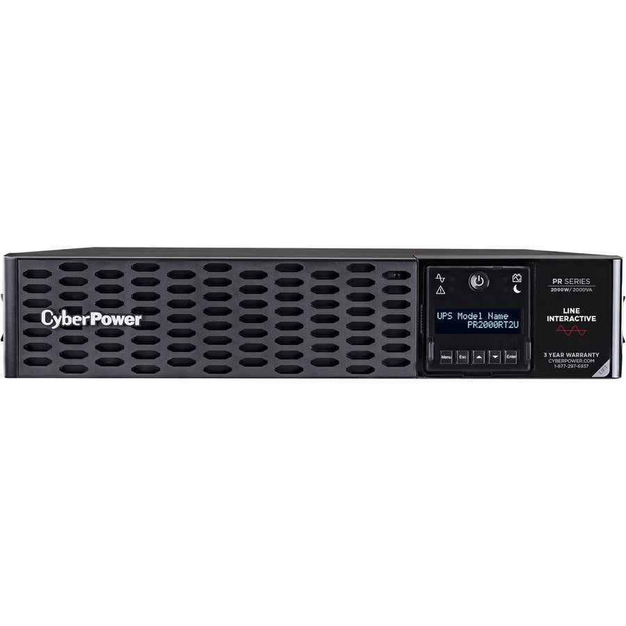 CyberPower Smart App Sinewave PR2000RT2UN 2KVA Tower/Rack Convertible UPS