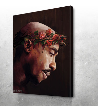 """The Rose That Grew From Concrete""Tupac - El'Cesart"