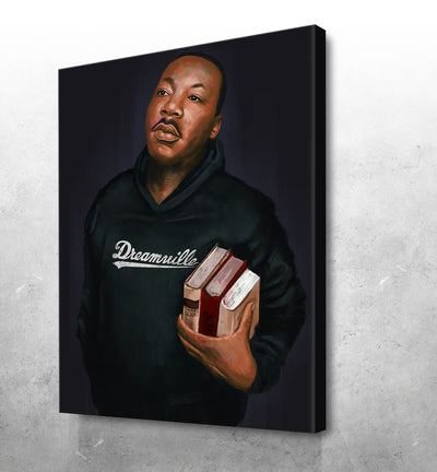 "Martin Luther King on "" DreamVille"" - El'Cesart"