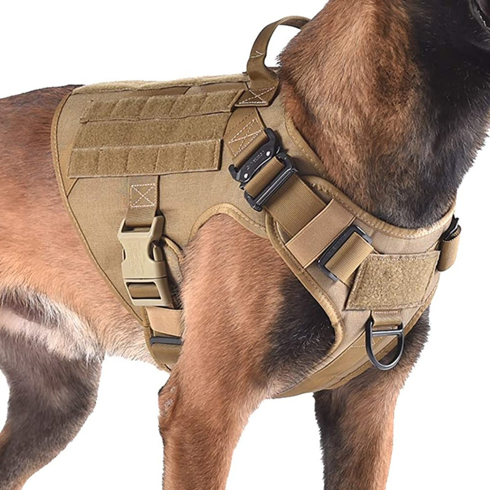2 Tactical Dog Harnesses