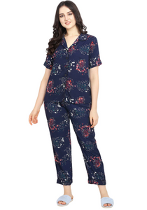 Floral Print Nightwear Set