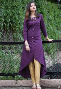 High-Low-Party-Wear-Kurta-Design