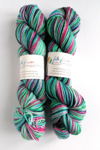 Load image into Gallery viewer, Colours of the Wind on Superwash Merino springy DK.