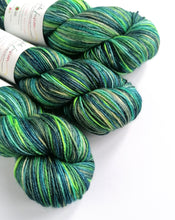 Load image into Gallery viewer, Finding Crush, hand dyed on superwash BFL/silk 4ply/fingering weight.
